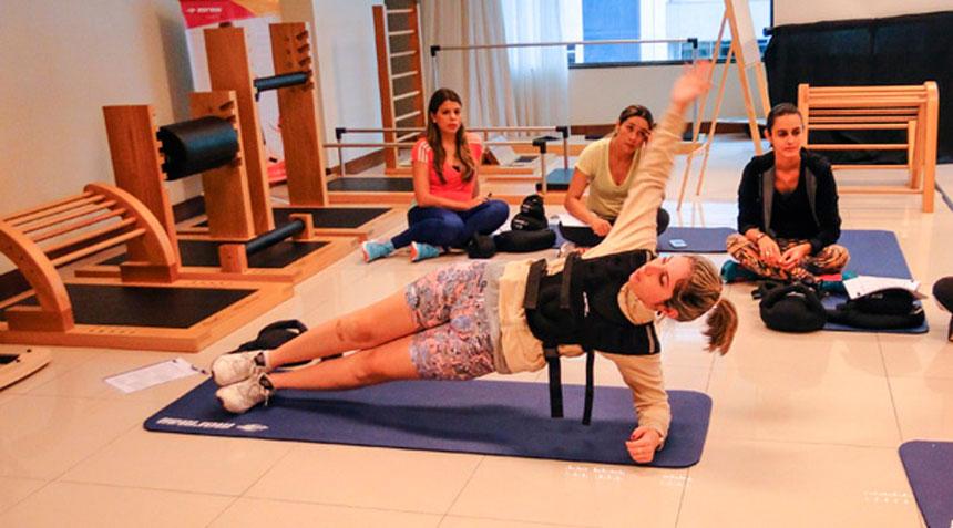 Método Integrado Mormaii Fitness: estabilização toracolombar