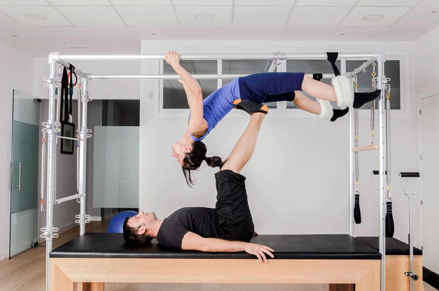 Pilates aéreo: pendurar ou não?