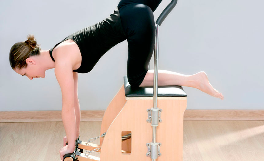 Pilates para dor no joelho