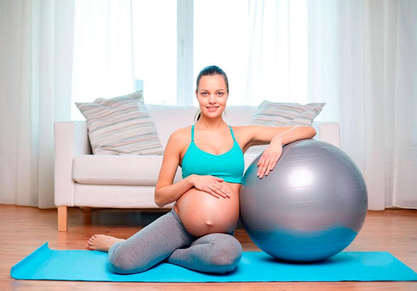 O Pilates para a dor nas costas na gravidez