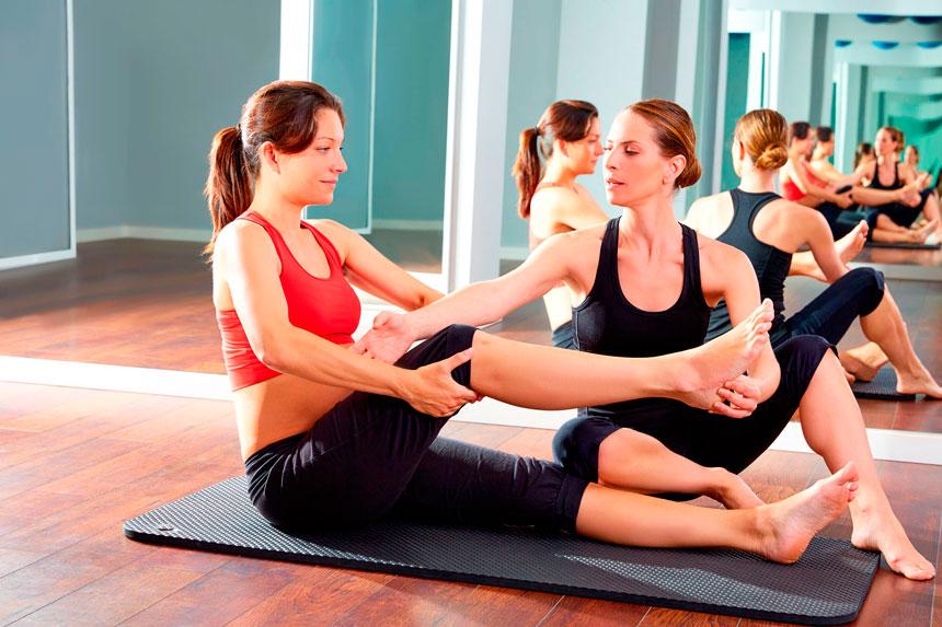 Primeira aula de Pilates: recepcionando o cliente