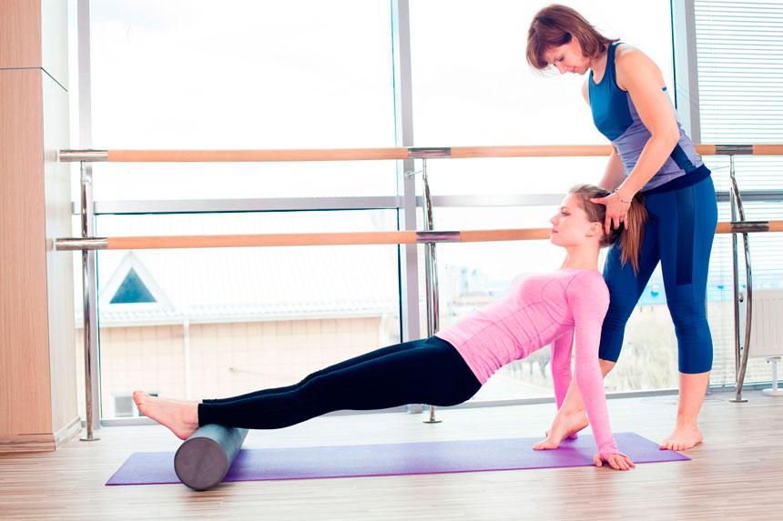 Atuação do Pilates na hérnia discal lombar