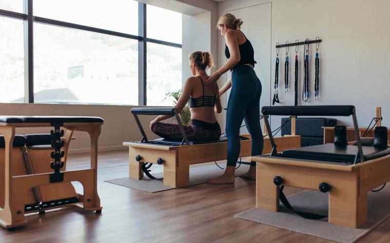 A importância de estar presente no Pilates
