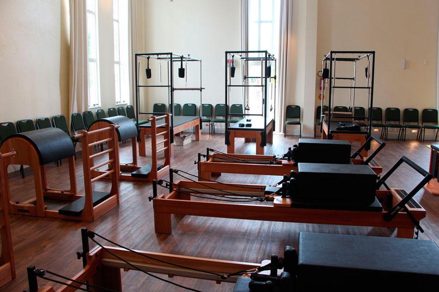 Principais equipamentos para o Pilates