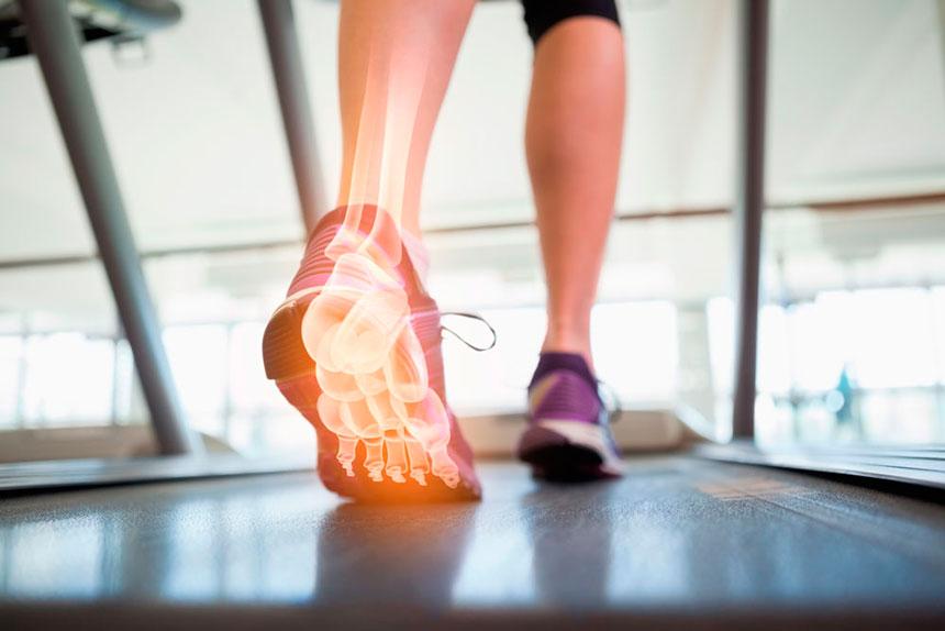 Exercícios de Pilates e desequilíbrios dos músculos do pé