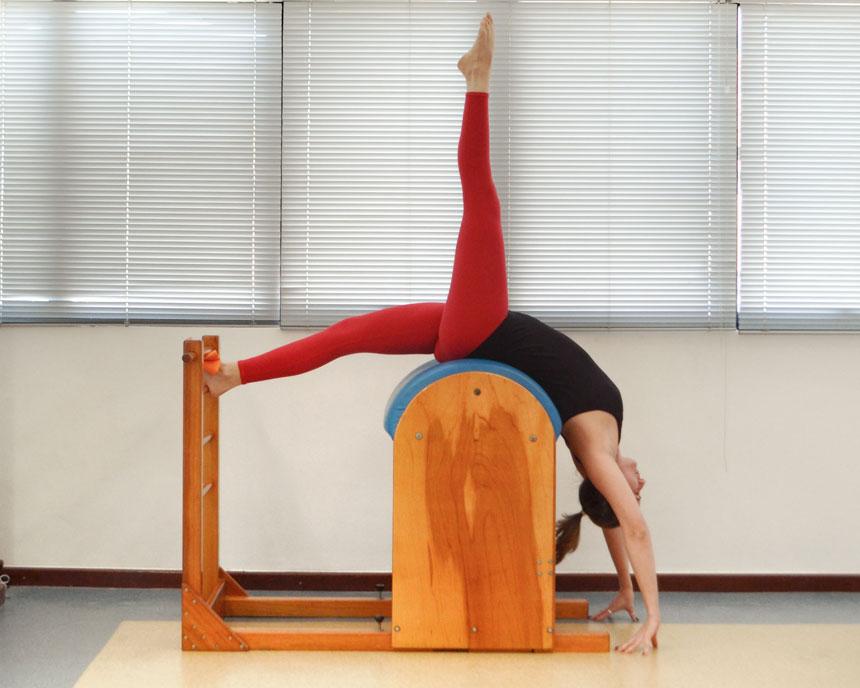 Exercícios de Pilates em equipamentos: o Tree