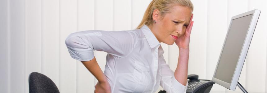 O método Pilates ajuda com a má postura decorrente de uma rotina agitada