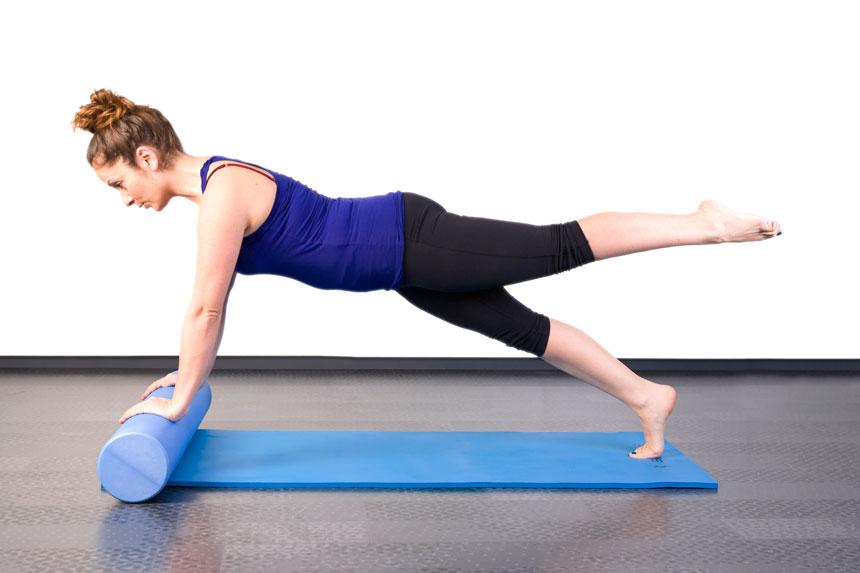 Aprimore movimentos para o ombro com o Foam Roller