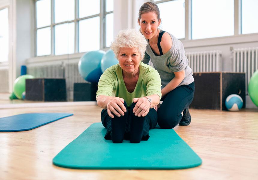 Benefícios do Pilates para idosos