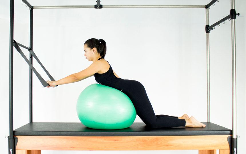 Pilates para lombalgia com liberação miofascial