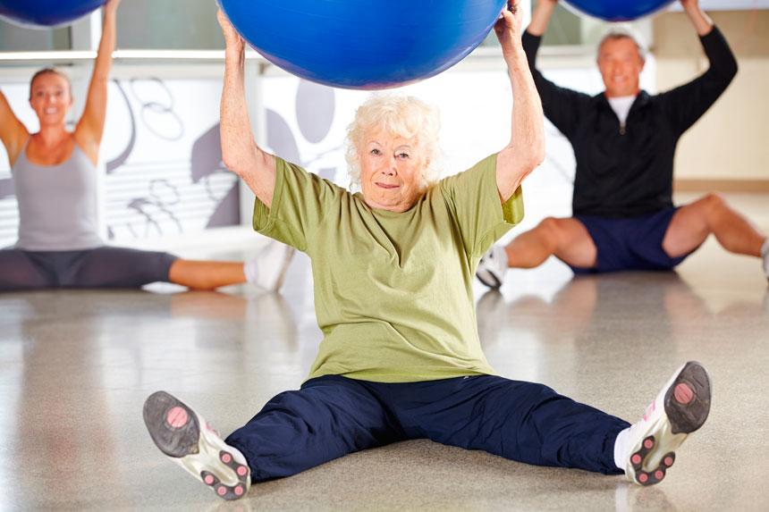 Pilates para idosos: trabalhando o equilíbrio