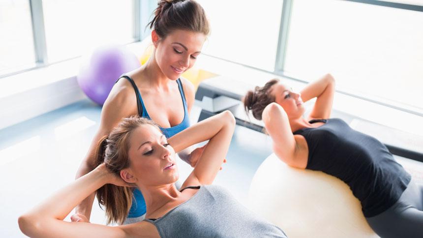 Studio de Pilates: Reposição de Aula