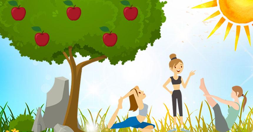 Como Exercício Físico ajuda a trazer Frutos no Pilates