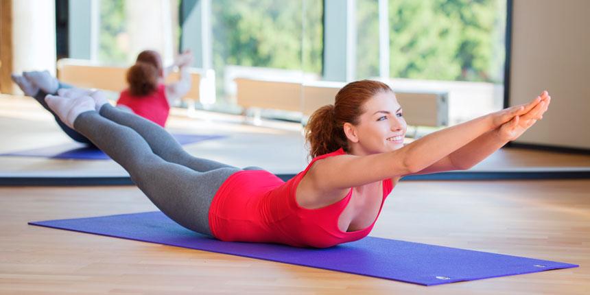 Como os princípios do Pilates pode ajudar a manter os ombros alinhados