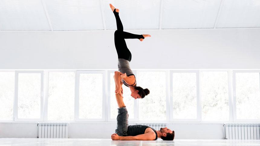 Como unir a Acro Yoga em suas Aulas de Pilates