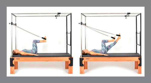 11)-Leg-Series-Supine---Bycicle - Exercícios de Pilates no Cadillac