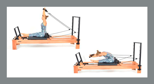 11)-Spine-Stretch - Exercícios de Pilates no Reformer