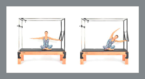 3)-Mermaid - Exercícios de Pilates no Cadillac
