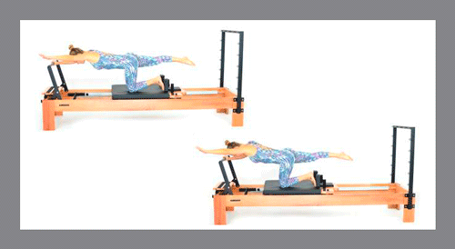 3)-Pushing-One-Side-Arm - Exercícios de Pilates no Reformer