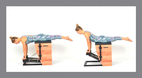 3)-Swan-Front -Exercícios de Pilates na Step Chair
