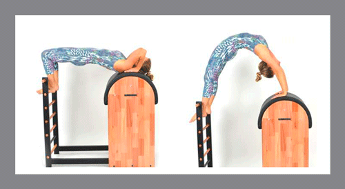 4)-Bridge - Exercícios de Pilates no Barrel