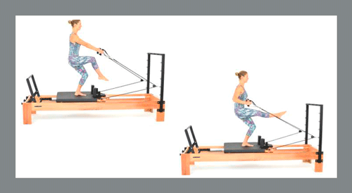 5)-Arms-Pulling-Stand-Up - Exercícios de Pilates no Reformer