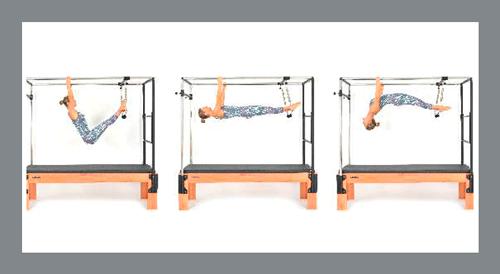 5)-Hanging-Pull-Ups -Exercícios de Pilates no Cadillac