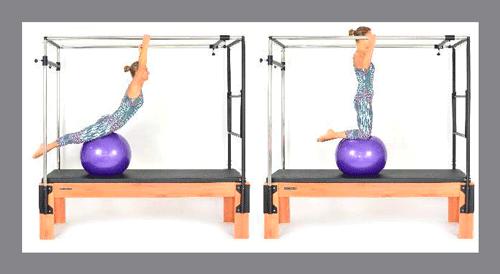6)-Rolling-Back---Variation - Exercícios de Pilates no Cadillac