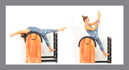 8)-Single-Straight-Stretch-Barrel - Exercícios de Pilates no Barrel