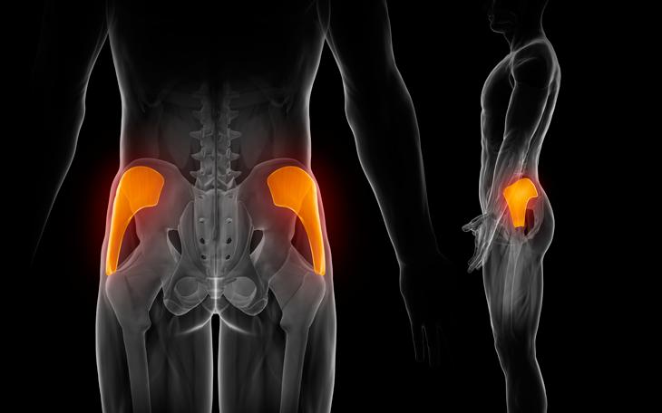 Externa das pernas dor lombar na parte