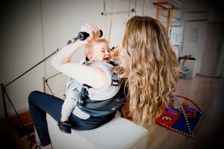 Conheça o Baby Pilates! Novo Método voltado para a mãe e o bebê