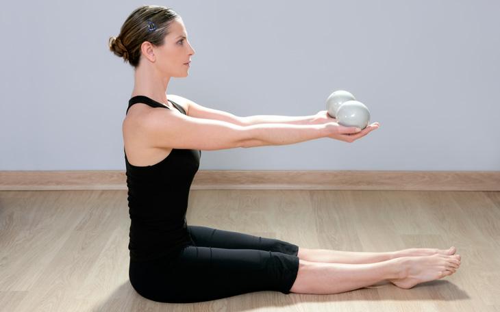 Lista Completa de Exercícios de Pilates com Tonning Balls