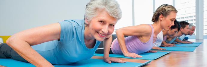 Resultado de imagem para pilates idosos