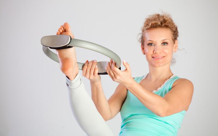 Lista de Exercícios com o Magic Circle (Solo + Equipamentos)!