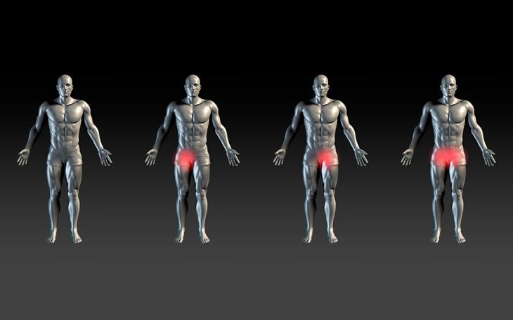 Quadril nas articulações e alívio da dor pélvica