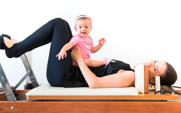 10 Exercícios de Baby Pilates que você PRECISA saber!