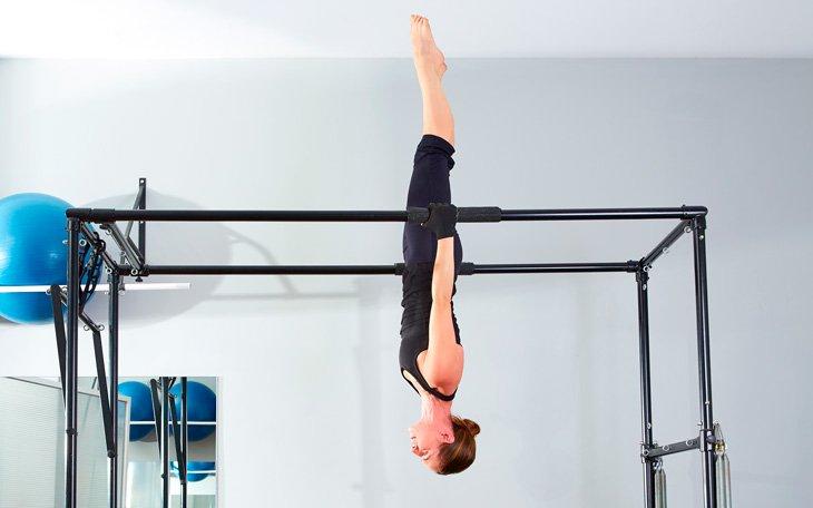 8 Exercícios Educativos de Pilates para Posições Invertidas