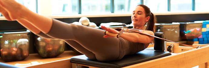 Lista dos Principais Exercícios de Pilates no Reformer