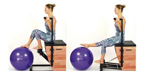 10 Exercícios de Pilates na Chair para trabalhar com seus alunos!