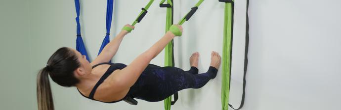 Pilates Suspenso: Conheça o Columpio Wall (+ 5 Exercícios Incríveis)