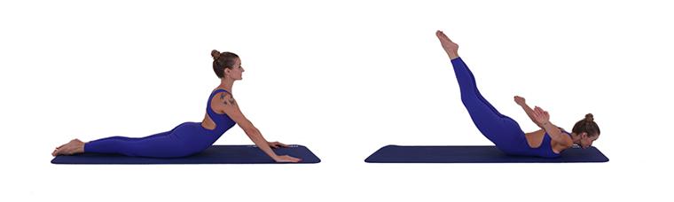 exercicios-para-hernia-discal-lombar-7-Swan-Dive