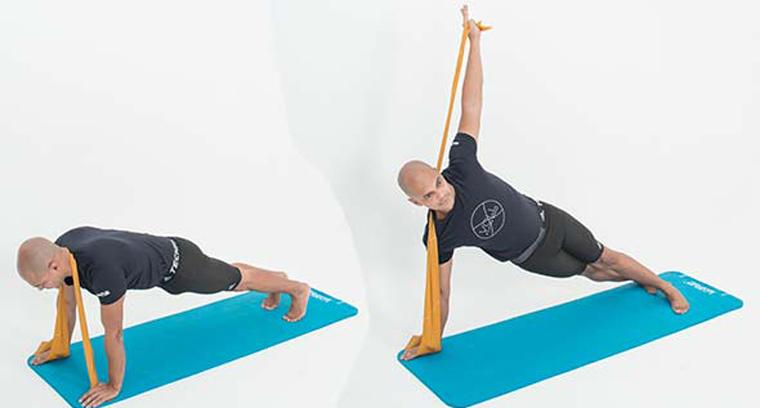 exercícios-com-faixa-elastica-Prancha-lateral-dinâmica
