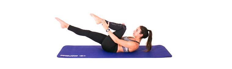 exercicio-de-Pilates-para-hipertensao-Single-Leg-Stretch