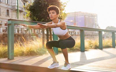 Por que o exercício agachamento é ideal para sua aula?