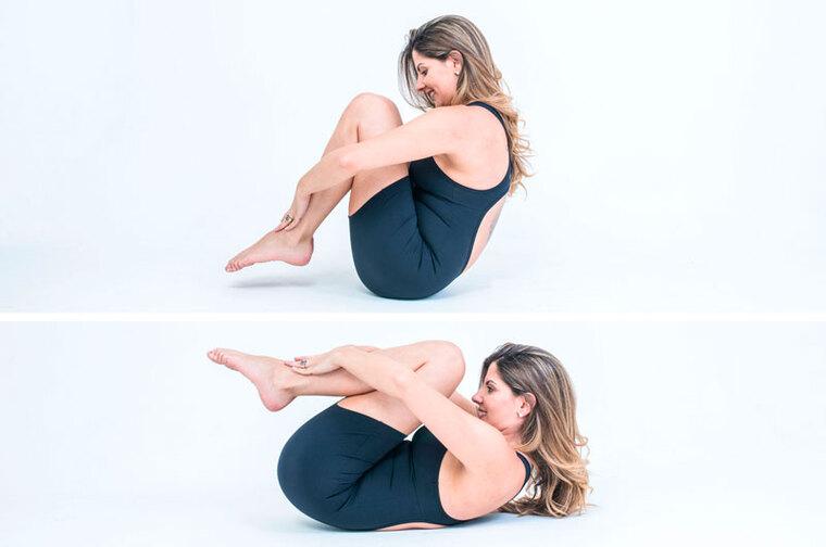 Roll Like a Ball-Exercícios de Pilates para a imunidade