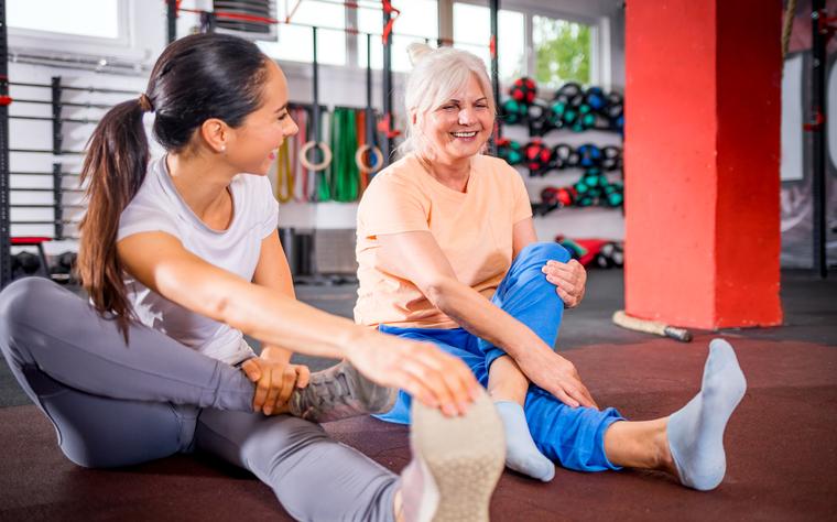 Método Pilates para idosos: um excelente aliado no envelhecimento