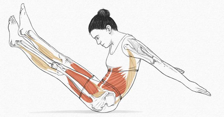 The Boomerang - exercícios originais de Pilates