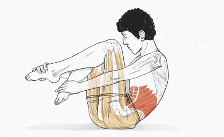 The Crab - exercícios originais de Pilates