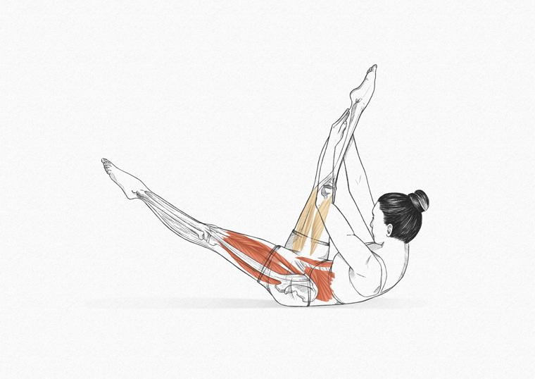 The One Leg Stretch - exercícios originais de Pilates