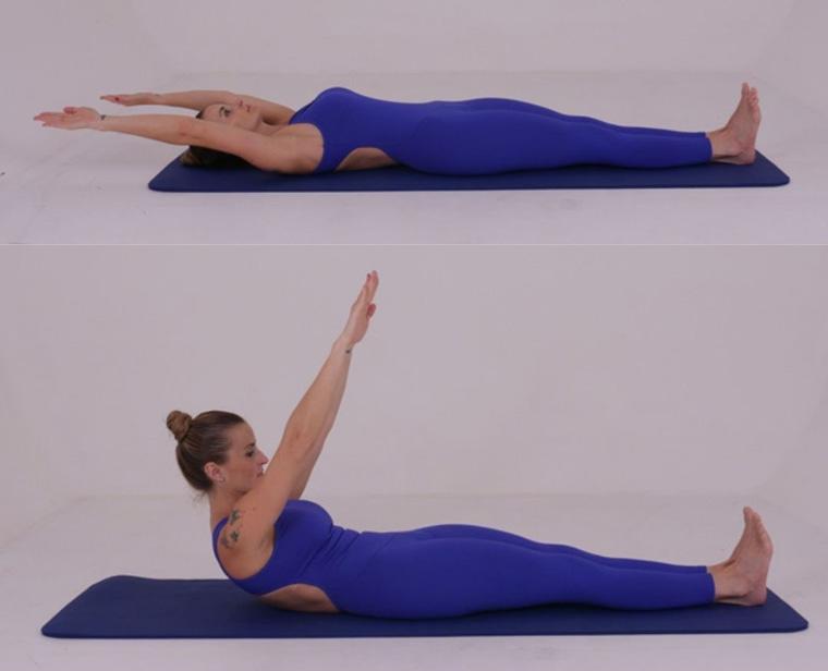 The Roll Up - exercícios originais de Pilates